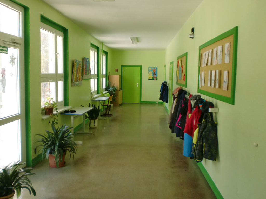 grüne Etage